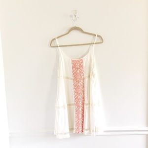 Lovers + Friends Lace Shift Tunic Dress